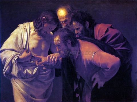 Caravaggio Doubting Thomas - Hand Painted Oil Painting