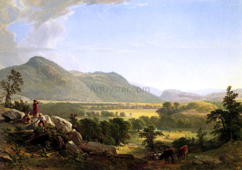 Asher Brown Durand High Point: Shandaken Mountains - Hand Painted Oil Painting