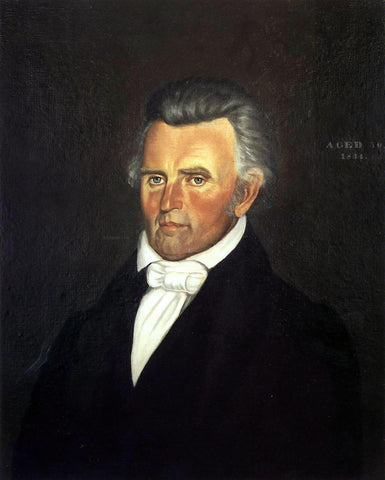 George Caleb Bingham Dr. John Sappington - Hand Painted Oil Painting