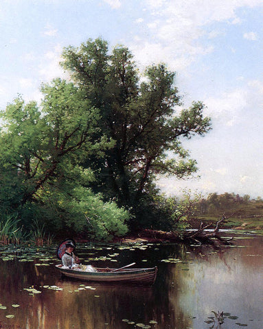 Alfred Thompson Bricher Drifting - Hand Painted Oil Painting