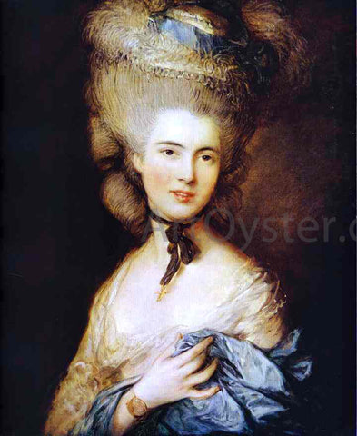 Thomas Gainsborough Duchess of Beaufort - Hand Painted Oil Painting