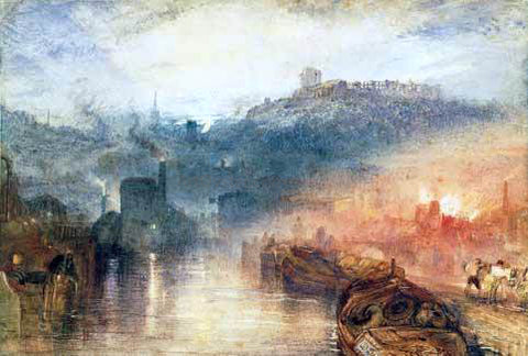 Joseph William Turner Dudley - Hand Painted Oil Painting