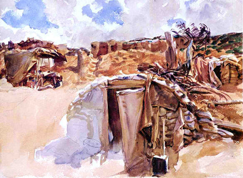 John Singer Sargent Dugout - Hand Painted Oil Painting