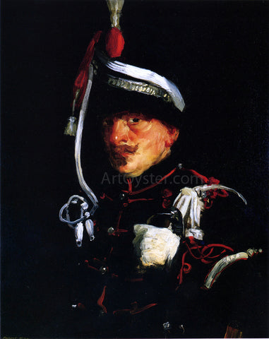 Robert Henri Dutch Soldier - Hand Painted Oil Painting