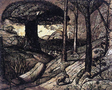 Samuel Palmer Early Morning - Hand Painted Oil Painting