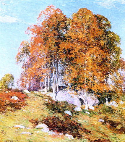 Willard Leroy Metcalf Early October - Hand Painted Oil Painting