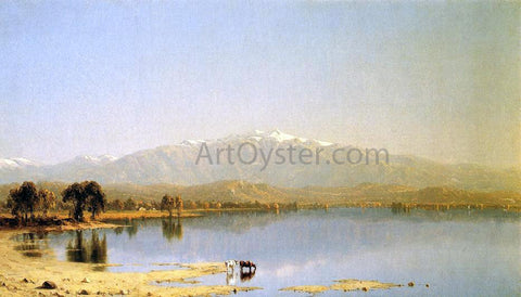 Sanford Robinson Gifford Early October in the White Mountains - Hand Painted Oil Painting