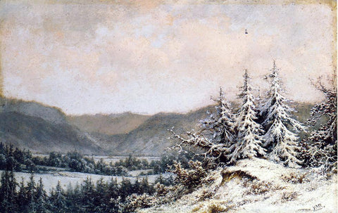 William Mason Brown Early Snow - Hand Painted Oil Painting