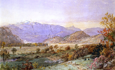 Jasper Francis Cropsey Early Snow on Mount Washington - Hand Painted Oil Painting