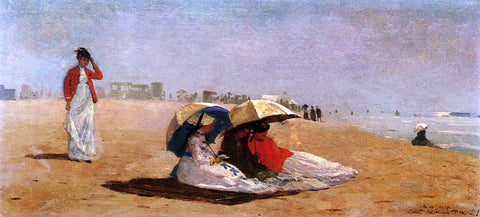 Winslow Homer East Hampton, Long Island - Hand Painted Oil Painting