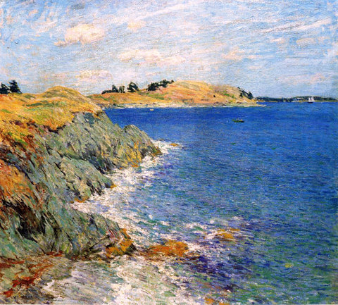 Willard Leroy Metcalf Ebbing Tide, Version Two - Hand Painted Oil Painting