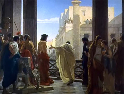 Antonio Ciseri Ecce Homo - Hand Painted Oil Painting