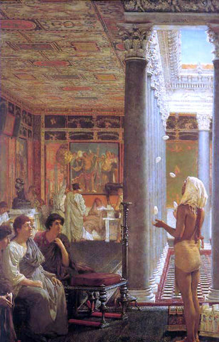 Sir Lawrence Alma-Tadema Egyptian Juggler - Hand Painted Oil Painting