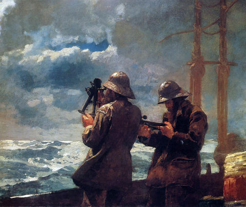 Winslow Homer Eight Bells - Hand Painted Oil Painting