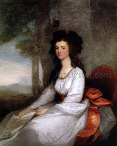 Gilbert Stuart Eleanor Gordon - Hand Painted Oil Painting