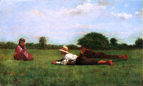 Winslow Homer Enchanted - Hand Painted Oil Painting