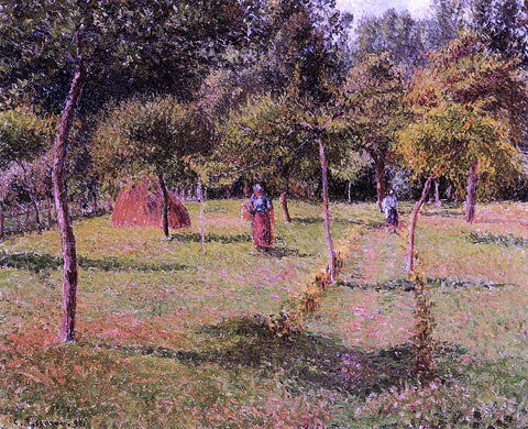 Camille Pissarro Enclosed Field at Eragny - Hand Painted Oil Painting
