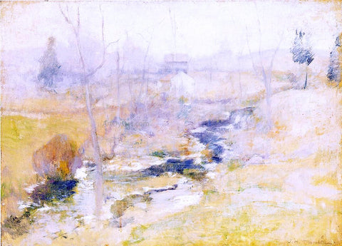 John Twachtman End of Winter - Hand Painted Oil Painting