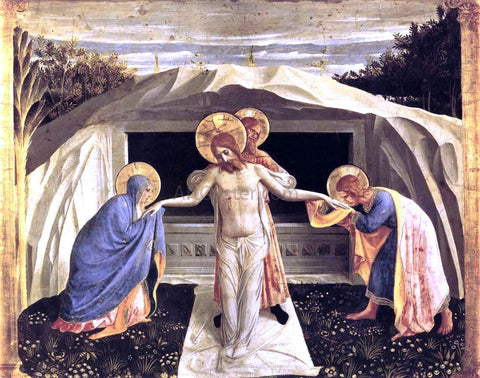 Fra Angelico Entombment (San Marco Altarpiece) - Hand Painted Oil Painting