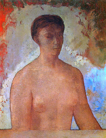 Odilon Redon Eve - Hand Painted Oil Painting