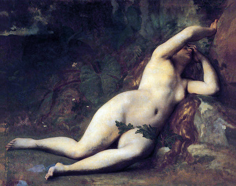 Alexandre Cabanel Eve After the Fall - Hand Painted Oil Painting