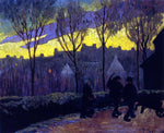 Paul Serusier Evening - Hand Painted Oil Painting
