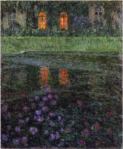 Henri Le Sidaner Evening - Hand Painted Oil Painting