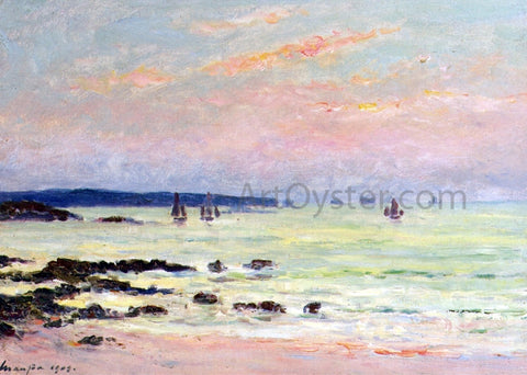Maxime Maufra Evening at the Sea, Quiberon - Hand Painted Oil Painting