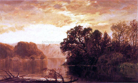 James David Smillie Fall River Landscape - Hand Painted Oil Painting
