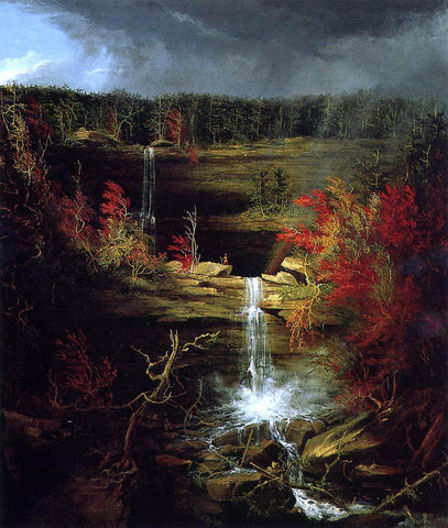 Thomas Cole Falls of Kaaterskill - Hand Painted Oil Painting