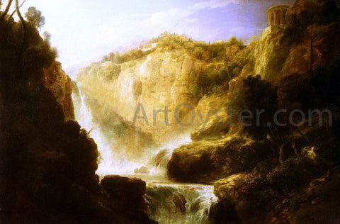William Linton Falls Of Tivoli - Hand Painted Oil Painting