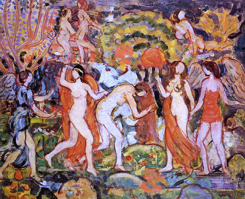 Maurice Prendergast Fantasy - Hand Painted Oil Painting