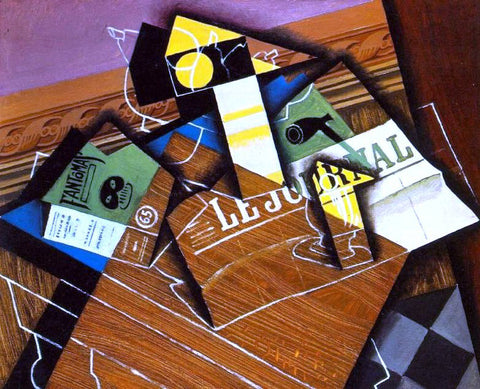 Juan Gris Fantomas - Hand Painted Oil Painting