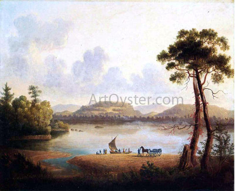 William Guy Wall Farewells on the Hudson - Hand Painted Oil Painting