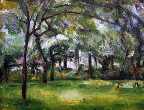 Paul Cezanne Farm in Normandy, Summer (also known as Hattenville) - Hand Painted Oil Painting