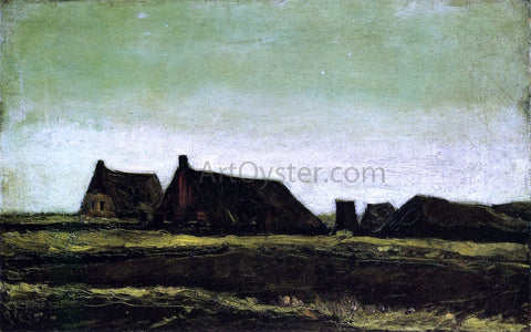 Vincent Van Gogh The Farms - Hand Painted Oil Painting