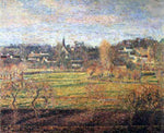Camille Pissarro February, Sunrise, Bazincourt - Hand Painted Oil Painting