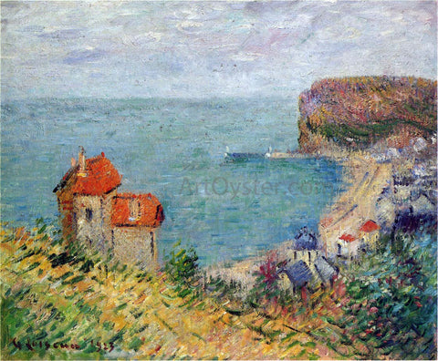 Gustave Loiseau Fecamp - Hand Painted Oil Painting