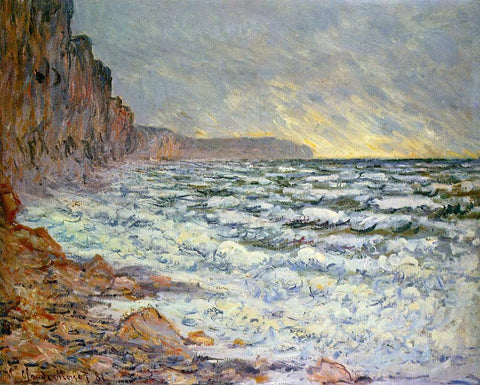Claude Oscar Monet Fecamp, by the Sea - Hand Painted Oil Painting
