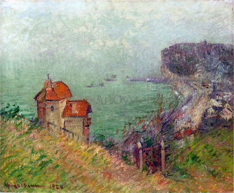 Gustave Loiseau Fecamp - Gray Weather - Hand Painted Oil Painting