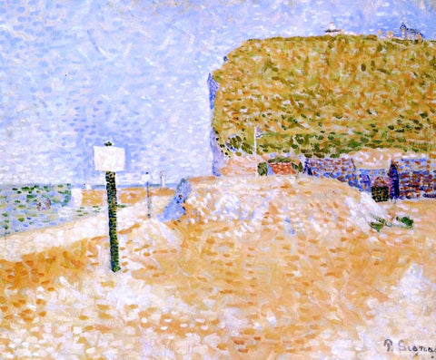 Paul Signac Fecamp, Sunshine - Hand Painted Oil Painting