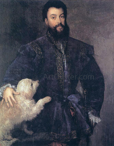 Titian Federigo Gonzaga, Duke of Mantua - Hand Painted Oil Painting