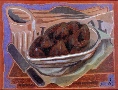 Juan Gris Figs - Hand Painted Oil Painting