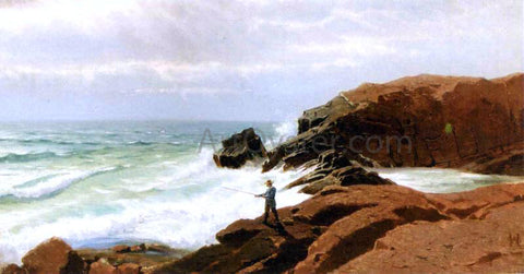 William Stanley Haseltine Fisherman - Nahant - Hand Painted Oil Painting