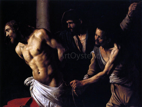 Caravaggio Flagellation of Christ - Hand Painted Oil Painting