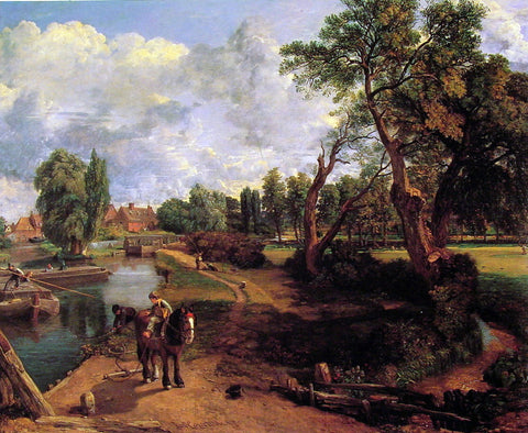 John Constable Flatford Mill - Hand Painted Oil Painting