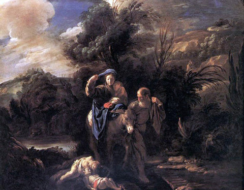 Domenico Feti Flight to Egypt - Hand Painted Oil Painting