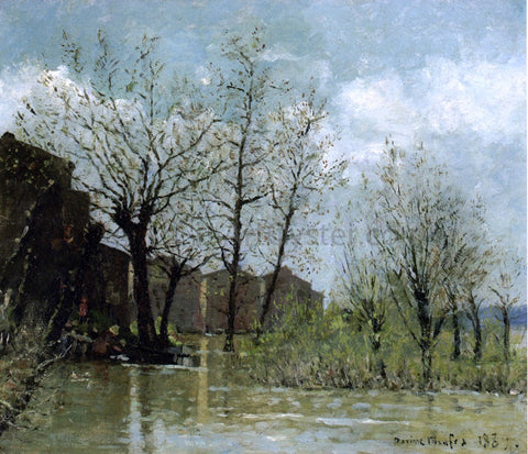Maxime Maufra Flood - Hand Painted Oil Painting