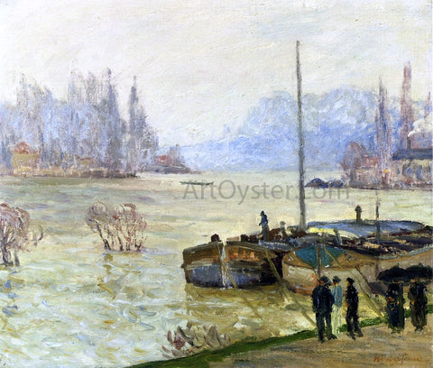 Maxime Maufra Flood (Joinville-le-Pont) - Hand Painted Oil Painting