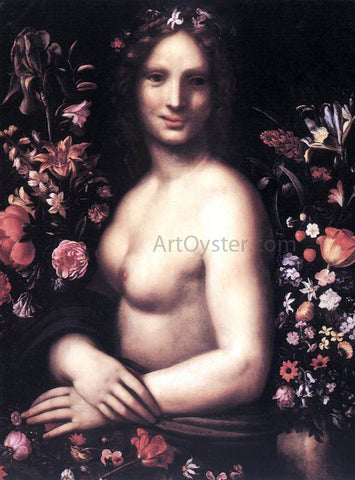 Carlo Antonio Procaccini Flora - Hand Painted Oil Painting